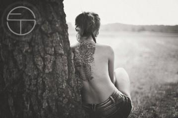 tattoo landscape Fotografie augsburg