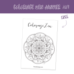 20 minutes de relaxation offertes (Free Printable inside)