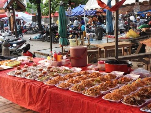 Street food at the night market