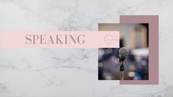 Speaking P