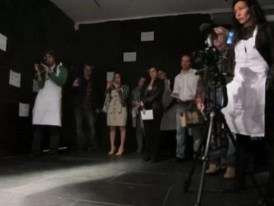 2012'IV'19. III MONO+GRAPHIC en el ICNY - 'Shelley III' por Megan Schubert - el público