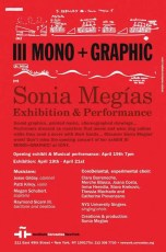 2012'IV'19. III MONO+GRAPHIC at the Cervantes Institute of New York - poster