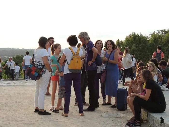 2016'IX'25. Madrid. Campanada por el equinoccio - recién llegados