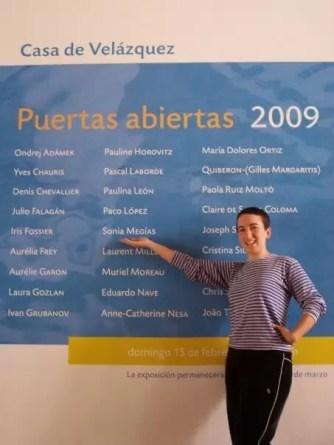 2009'II. Puertas abiertas, Casa de Velázquez