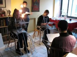2011'III'13. 'Triangle' - Rehearsal at Kathy Bruce's_1