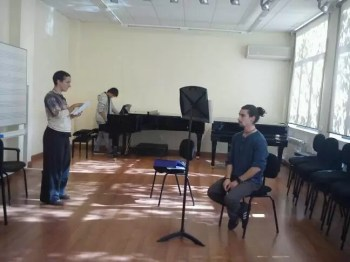 Ensayo de 'Ready For.1'