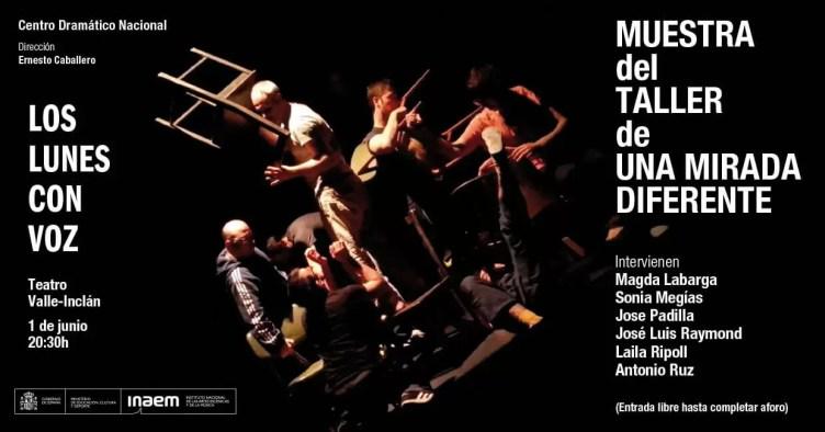 2015'VI'1. CDN: Muestra del taller de 'Una mirada diferente'