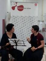 2016'II. Dúa de Pel canta en hospitales de Madrid con Música en vena