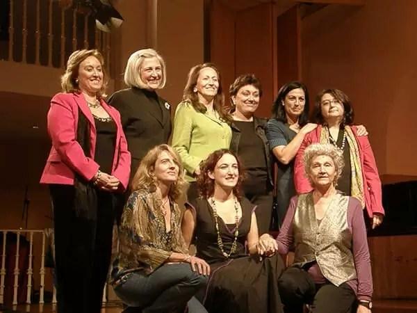 2008'X'23. Estreno de 'LBaila'. Con las compositoras
