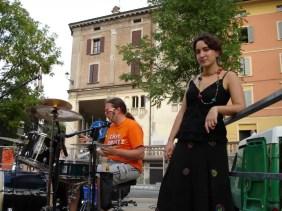 2006'VI. El Almansa Quartet actúa en Italia - preparando el concierto, Muñoz a la batería y yo hacia el piano