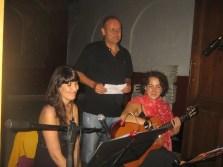 2010'VII'16, Oria. Concierto monográfico de mis canciones 'Darle luz al silencio' - con la soprano Laura Moyano y el poeta Antonio Gª Soler