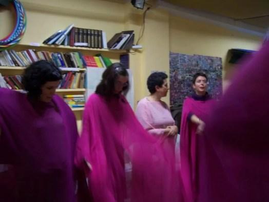 2008'X. Estreno de 'LBaila' - Prueba de las túnicas
