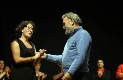 2010'V'9. Gira VBL - Almansa - Llorenç Barber nos felicita por su 'Por la sombra del camino de los elefantes'