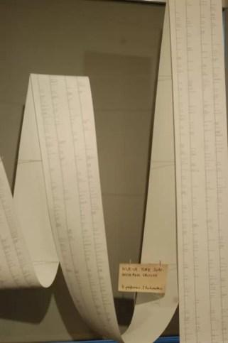 2012'IV'19-25. III MONO+GRAPHIC en el ICNY - Partitura de 'Nueva York 2010 - Invierno Oblicuo'