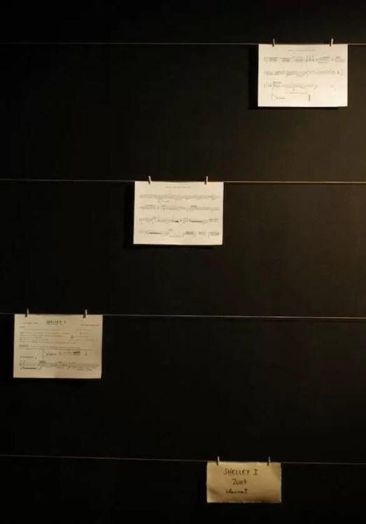 2012'IV'19-25. III MONO+GRAPHIC en el ICNY - Partitura de 'Shelley I'