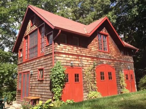 2016'X'11. Dúa de Pel in Connecticut - the barn