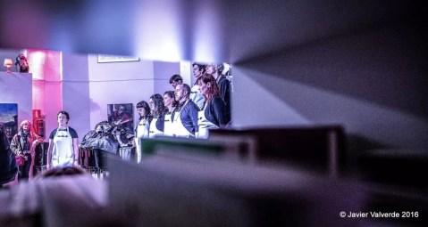 2016'II'26. Madrid. Bueno por conocer.8 - 'Ejercicio de escucha profunda' de Pauline Oliveros. Foto: Javier Valverde