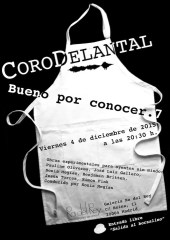 2015'XII'4. Madrid. Bueno por conocer.7 - cartel. Diseño: Isis Gayo