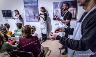 2015'XII'4. Madrid. Bueno por conocer.7 - 'The time in a thread' de Sonia Megías - 3. Foto: Javier Valverde