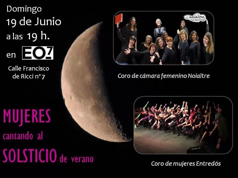 2016'VI'19. Madrid. Encuentro de coros femeninos - cartel