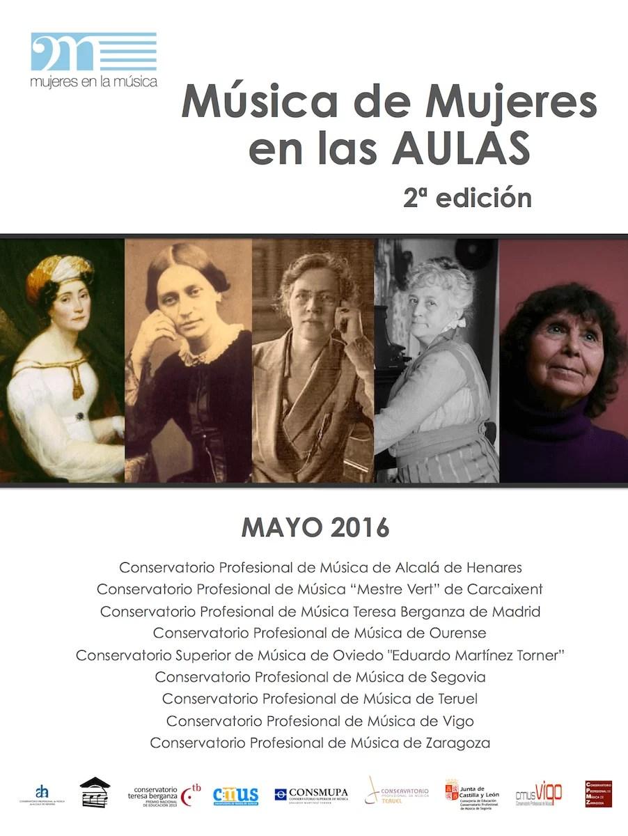 2016'V'18. Segovia. Mujeres en las aulas. Alumnado de Estela Ortega - cartel