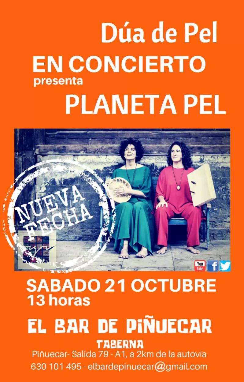 2017'X'21. Dúa de Pel en Piñuécar - cartel