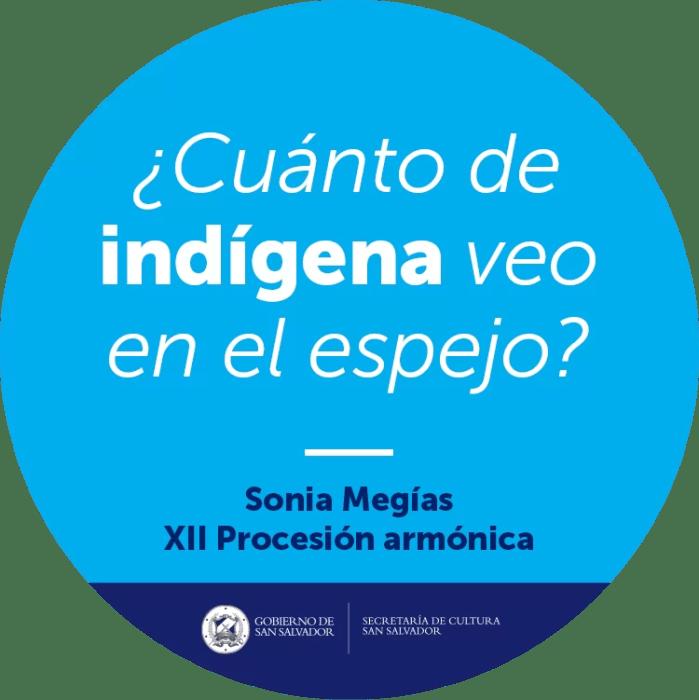 2017'II'19. XII Procesión Armónica - pegatina indígena