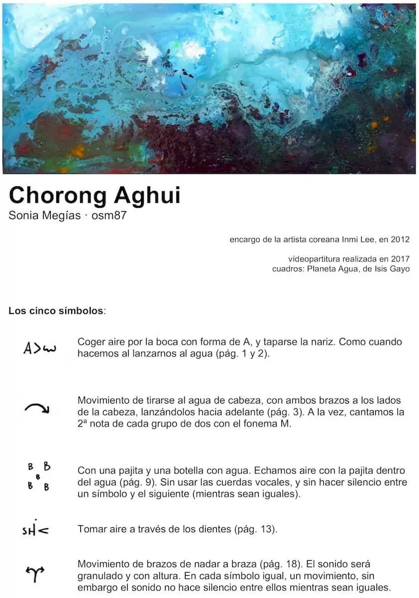 2012'VIII. Chorong Aghui - instrucciones