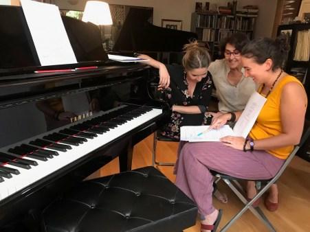 2017'VIII. Trabajando con Rosa y Rocío - 2