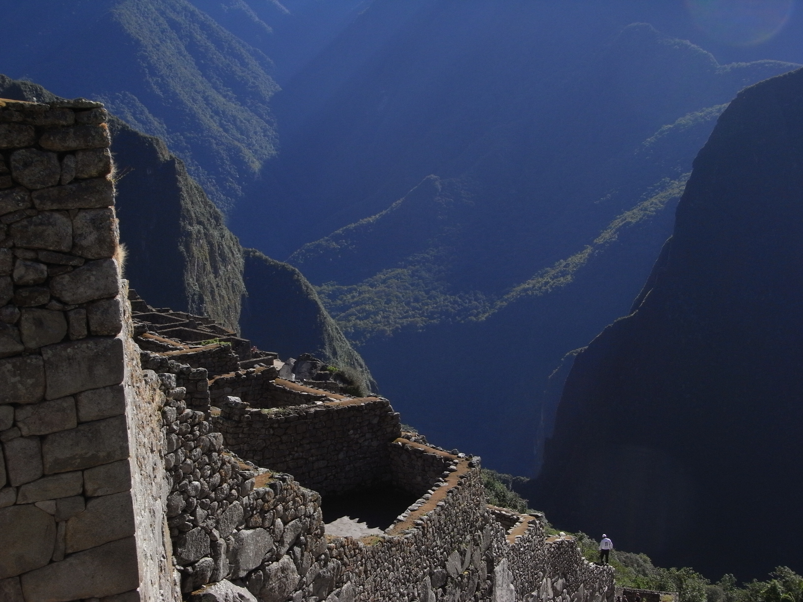 The Inca's certainly like heights!