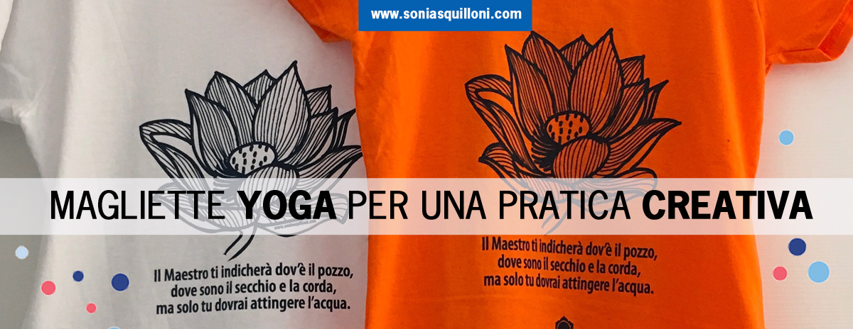 T-shirt Yoga Svadhistana, per una pratica creativa