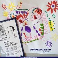 gesto della tigre • Sarduli Mudra #yogaratna40days 2017
