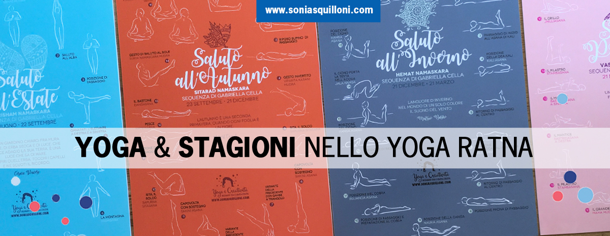 Le sequenze yoga di saluto alle stagioni di Gabriella Cella