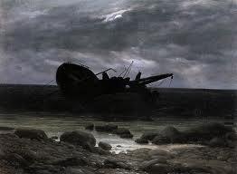 """La vida es montruosa, ilimitada, absurda, profunda..."" Cuadro de Caspar David Friedrich"