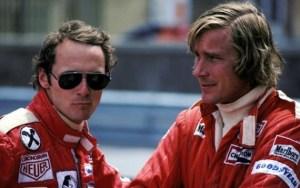 Los auténticos Niki Lauda y James Hunt