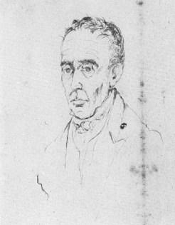 11....José María Espinosa. Tinta sobre papel 0,145 x 0,14.Bogotá, 1830...