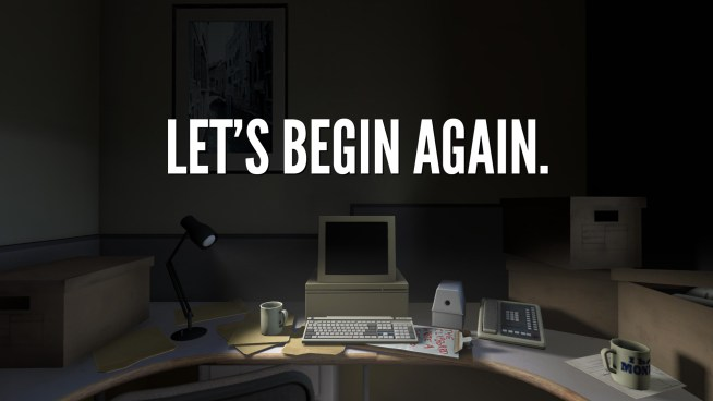 the stanley parable lets begin again