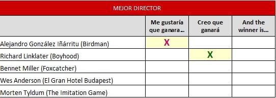 mejor director