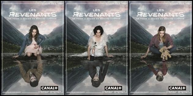 Les Revenants Canal + Poster