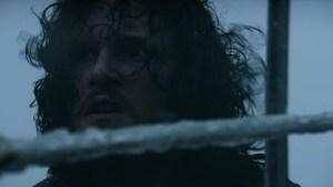 La cara de sorpresa de Jon, y del Caminante... impagables
