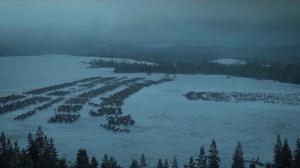 Izquierda: ejército Bolton Derecha: ejército Baratheon