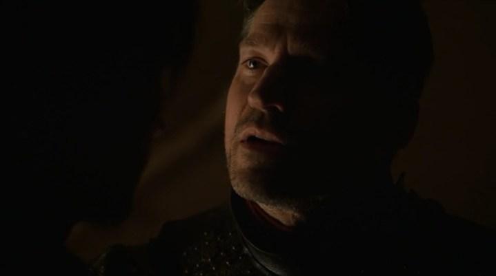 Porque no me importas, Lord Edmure. Tu hijo no me importa. La gente del castillo no me importa. Solo Cersei.