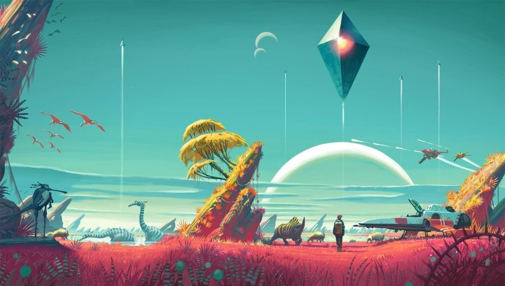 wallpaper no mans sky