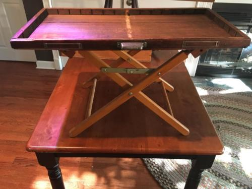 Letterpress drawer table