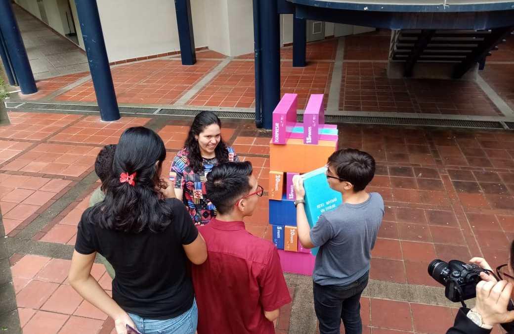 Sónica participó en el Campus AMI