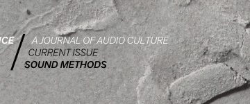 Evental Aesthetics: Sound Art and Environment