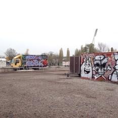 Mauerpark Flohmarkt, Prenzlauer Berg (empty!)