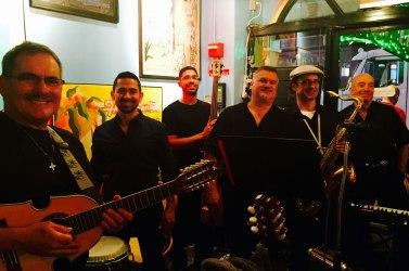 Sonido-Costeno-group-picture-Havana-Centra-Times-Square-restaurant