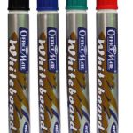 Soni Office Mate - WhiteBoard Markers (Without Clip), Pack of 10pcs