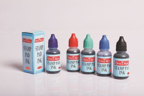 Soni Office Mate - Stamp Pad Refill Ink 15 ml 2
